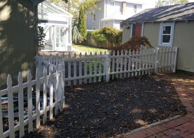 A Number Of Organized Houses Backyard Spaces For Home Inspection Services