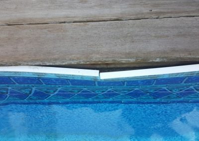 Surveillance of a Damage Swimming Pool Liner For Home Inspection Services