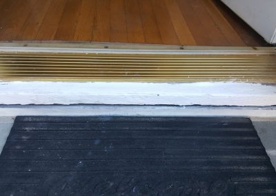Home Inspection Services Conduct On a Sill Plate Which Is Rotten In a Home