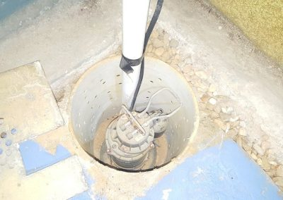 Home Inspection Services Performed On a Sewage Ejection Pump, Which Is Out Of Water So It Cannot Be Certified By Licensed Home Inspector